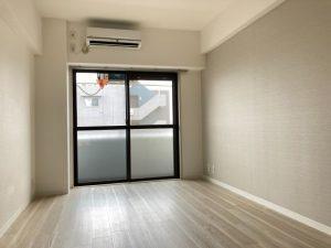エアコン交換済 ワンルーム賃貸室内写真